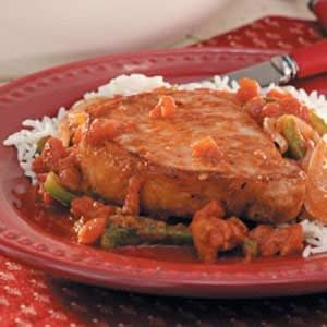 Pork Chops Mole Recipe
