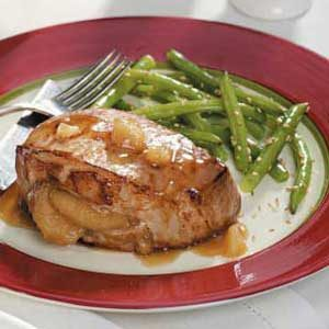Ginger-Apple Pork Chops Recipe