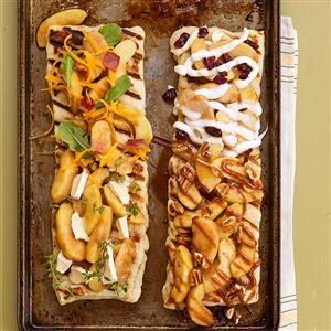 Grilled Apple Pizza Recipe