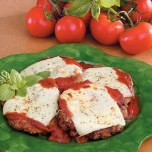 Cubed Steaks Parmigiana Recipe