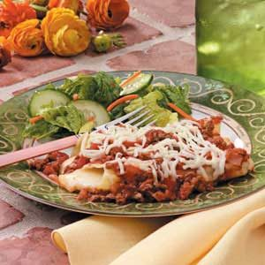 Easy-to-Stuff Manicotti Recipe