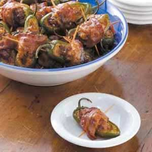 Bacon-Wrapped Stuffed Jalapenos Recipe
