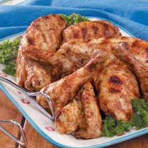 Southern Barbecued Chicken