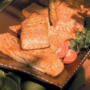 Curried Salmon