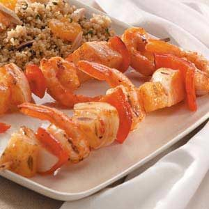 Shrimp Pineapple Kabobs Recipe