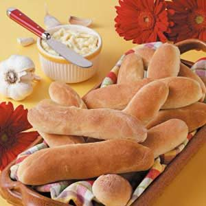Breadsticks with Parmesan Butter Recipe