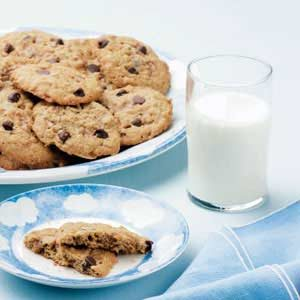 Oaty Peanut Butter Cookies Recipe