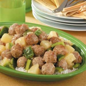Easy Sweet-and-Sour Meatballs Recipe