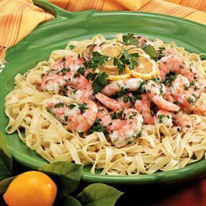 Shrimp Fettucine Recipe