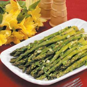 Oven Roasted Asparagus Recipe