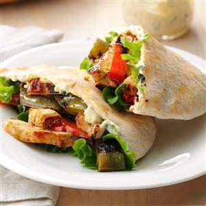 Fajitas in Pitas Recipe