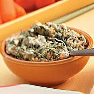 Warm Spinach Dip Recipe