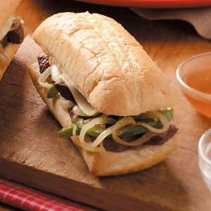 Beef Sandwiches Au Jus Recipe