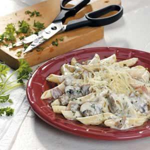 Mushroom Prosciutto Pasta Recipe