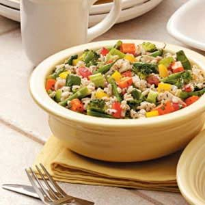 Lemony Vegetable Barley Salad