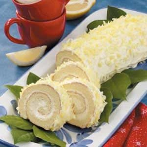 Luscious Lemon Cake Roll Recipe