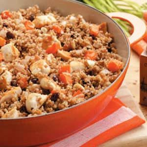 Chicken Bulgur Skillet Recipe
