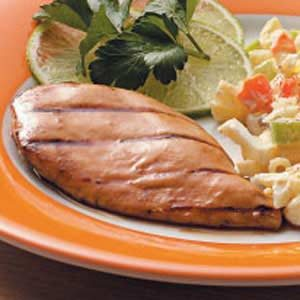 Orange-Mustard Grilled Chicken Recipe