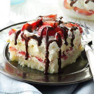 White Chocolate-Strawberry Tiramisu Recipe