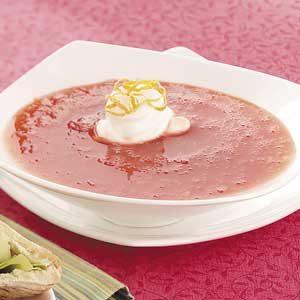 Strawberry Orange Soup Recipe