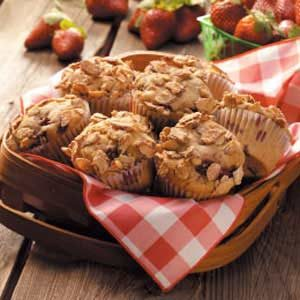 Almond Berry Muffins Recipe