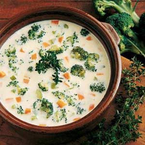 Cheesy Vegetable Soup Recipe