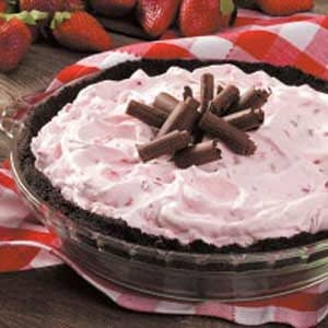 Frozen Berry Pie