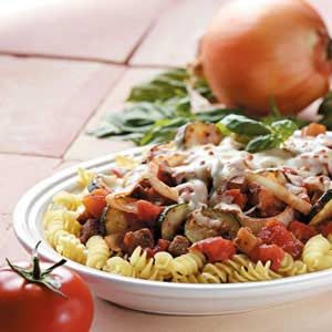 Ratatouille Pasta Recipe