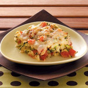 Zucchini Tomato Bake Recipe