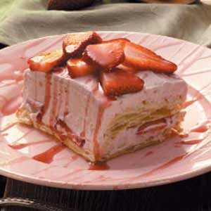 Strawberry Puff Pastry Dessert