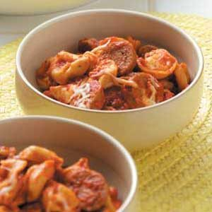 Roasted Pepper Tortellini Recipe