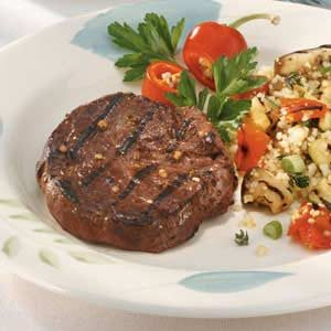 Tropical Tenderloin Steaks Recipe