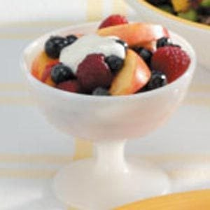 Berry Nectarine Salad