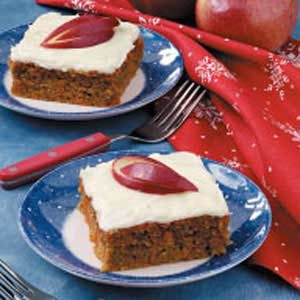 Grandma's Apple Carrot Cake