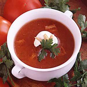 Spiced Tomato Soup Recipe