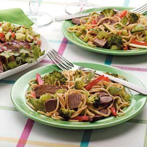Thai Beef Noodle Salad Recipe