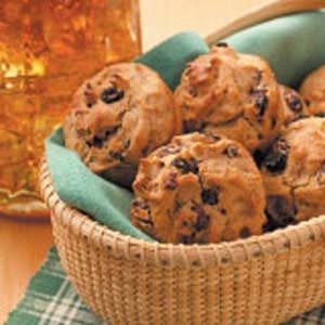 Raisin Rye Muffins Recipe
