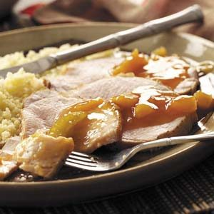 Hawaiian Pork Roast with Pineapple Recipe