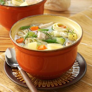 Mom's Chicken Noodle Soup Recipe