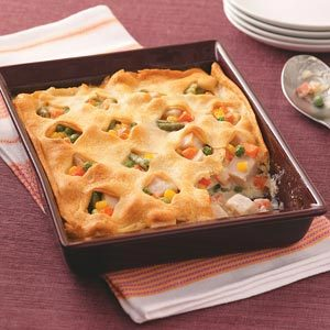Crescent Turkey Casserole Recipe