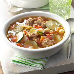 Tasty-Italian Vegetable Soup Recipe