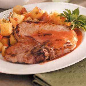 Weeknight Pork Chops Recipe