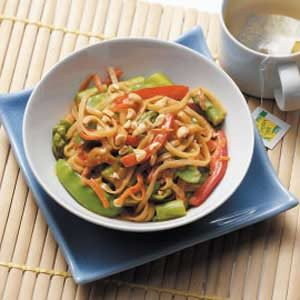 Thai Vegetable Noodles Recipe