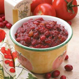 Cranberry Tomato Chutney Recipe