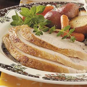 Turkey Breast with Vegetables Recipe