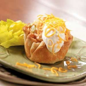 Chicken Salad Cups Recipe