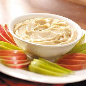 Creamy Caramel Fruit Dip Recipe