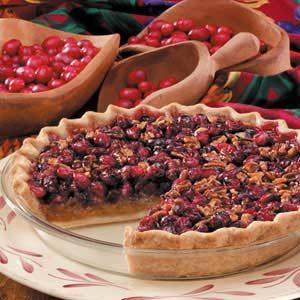 Cranberry Pecan Pie Recipe