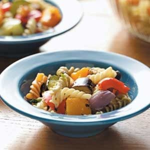 Roasted Veggie Pasta Salad Recipe