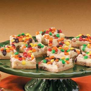 Candy-Topped Bars Recipe